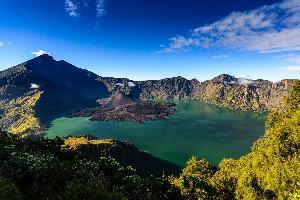 Indonezija-Lombok, vulkan Rinjani