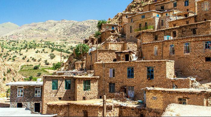 Iran-Palangan,gorska kurdska vasica