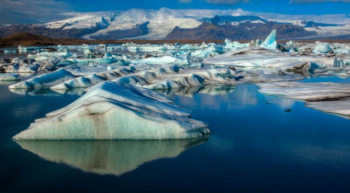 Islandija-ledeniska laguna Jokulsarlon1