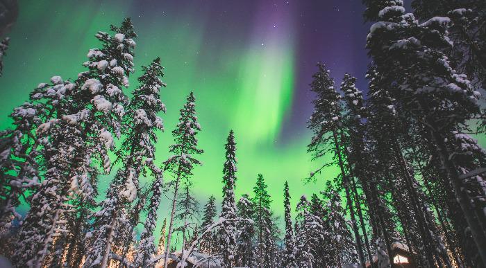 Islandija-polarni sij