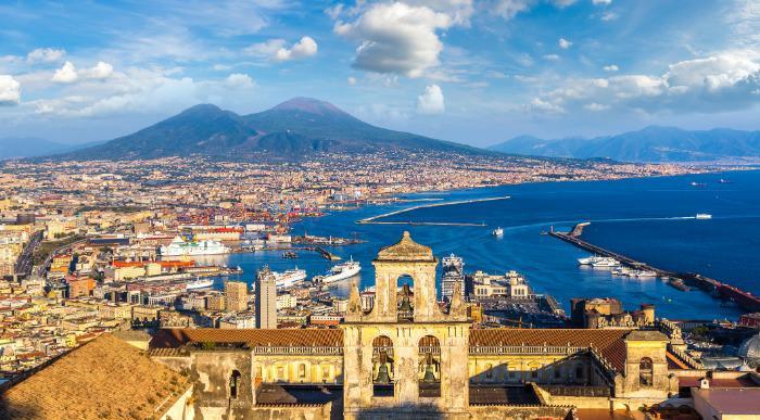 Italija Rim, Vezuv in Pompeji