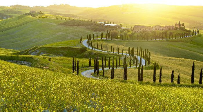 Italija, Toskana, panorama