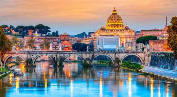 Italija, Večni Rim in Orvieto