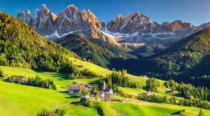 Italija Zobci Dolomitov