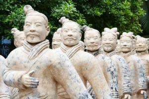 Kitajska-Xian-glineni vojščaki