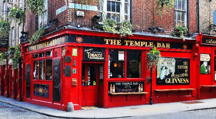 Klasična Irska-Dublin- Temple bar