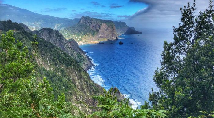 Madeira - razgled na severno obalo