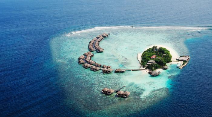 Maldivi iz zraka