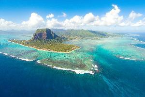 Mauricius iz zraka