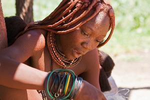 Namibija – lepotica plemena Himba