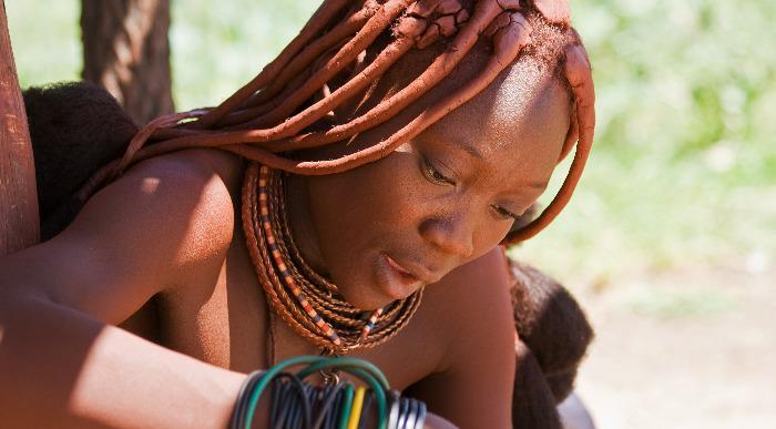Namibija – lepotica plemena Himba _117635002