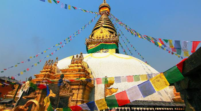 Nepal-Kathmandu-Swayambhunath