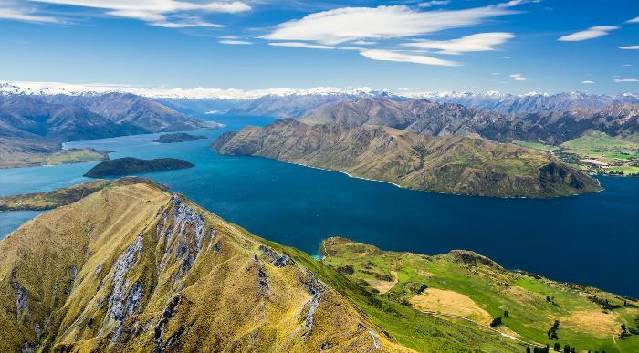Nova Zelandija-Jezero Lanaka in gora Aspiring