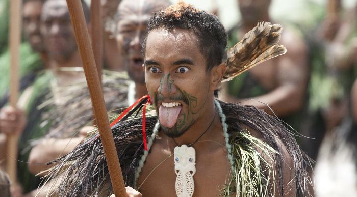 Nova zelandija - Maori bojevnik