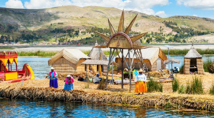 Peru-jezero Titicaca