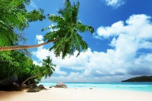 Sejšeli - plaža