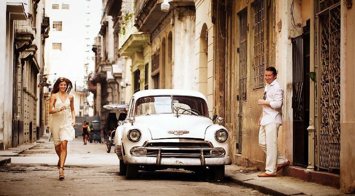 poročni par Havana
