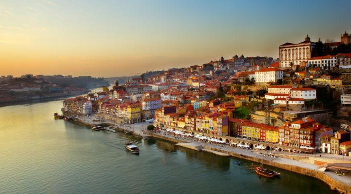 Portugalska, Porto ob sončnem zahodu_113942248