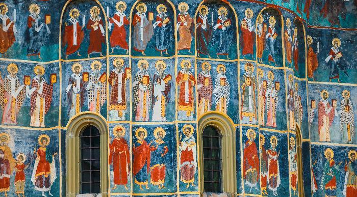 Romunija-freske