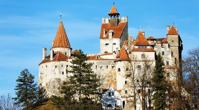 Romunija-Sighsoara-grad Bran -grad grofa Drakule