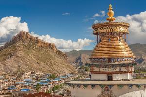 Tibet - stupa