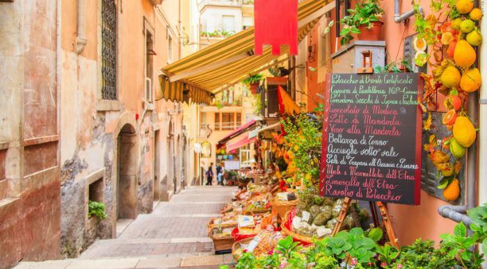 Sicilija – Taormina – ozka ulica_202344283