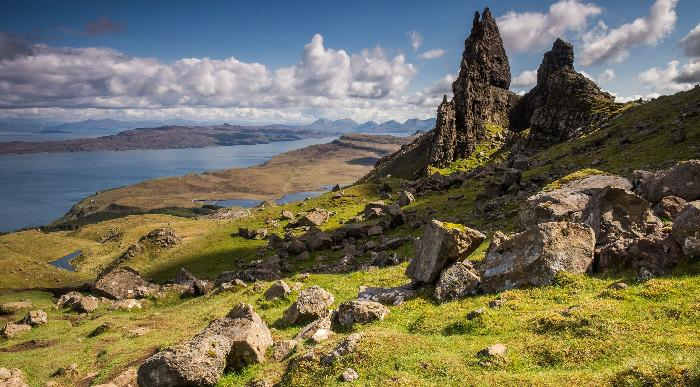 Škotska-otok Skye- The old man of Storr