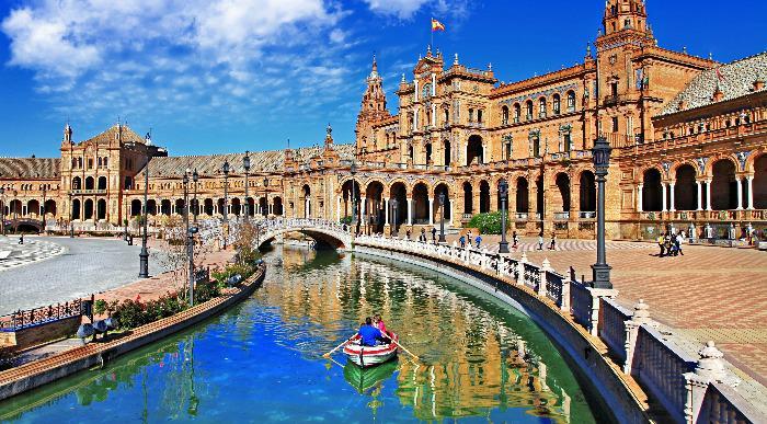 Španija- Plaza de Espana-Sevilla
