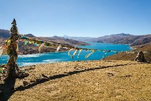 Tibet-jezero Yamdrok 3