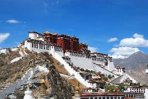 Tibet-Potala palača-Lhasa