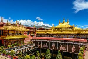 Tibet-tempelj Jokhang