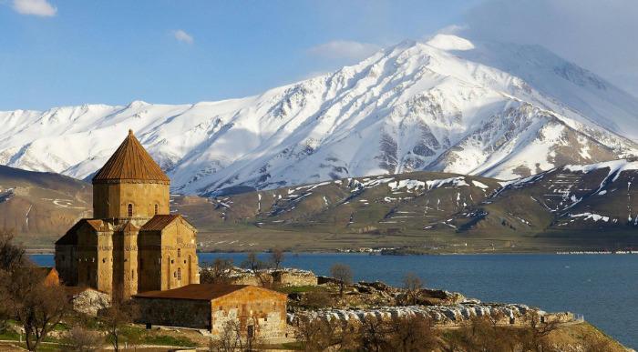 Turčija-jezero Van in Ararat