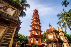 Vietnam-Hanoi-TranQuoc tempelj