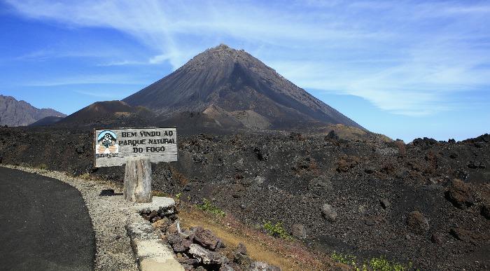 Zelenorstski otoki - Pico de Fogo - vulkan