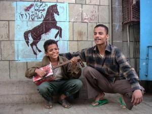 Taiz mali muzikant