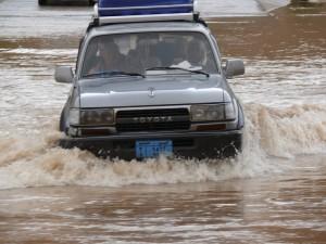 Čez vodo v Wadi Ainu