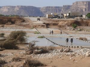 Bila je cesta v Wadi Doan