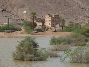 Poplava v puščavi