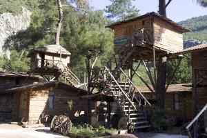 Kadirjeve hiške na drevesih