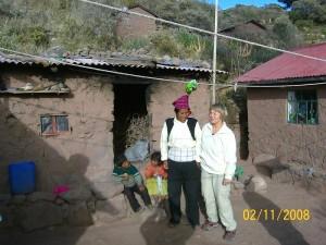 Titikaka jutro z družino