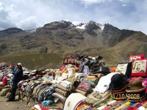 Tržnica v Andih