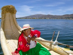 Plovba po jezeru Titikaka