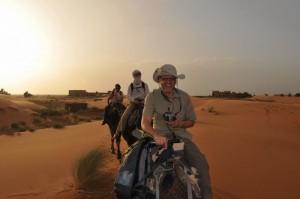 Maroko, na kameljih grbah