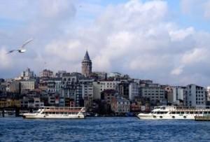 Pogled na Istanbul