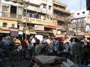 Delhi - kaos na ulicah