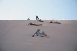 Egipt-zabava v puščavskem pesku