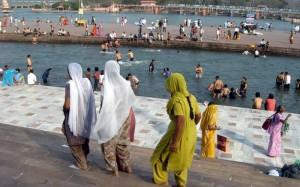Haridwar - kopalne ploščadi in užitki v sveti Gangi