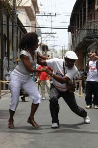 Ples na ulicah Kube