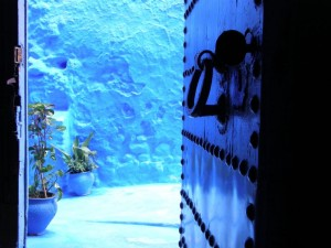 Maroko–Chefchaouen-Berberska vrata