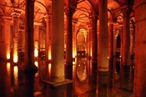 Turčija-Istanbul-potopljena palača